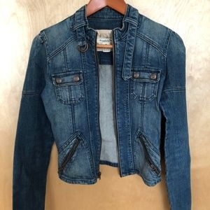 Jean Jacket - Medium - Abercrombie and fitch
